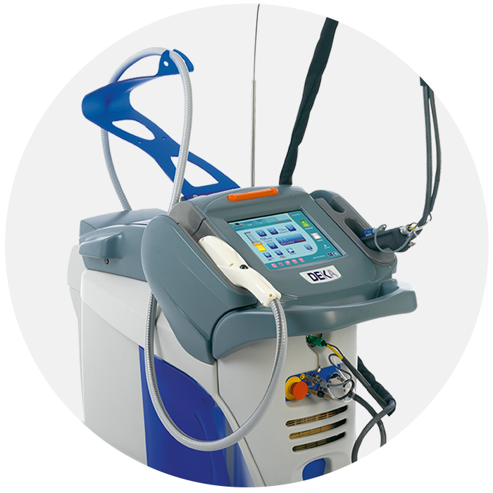 Synchro FT medical laser for dermatological and aesthetic